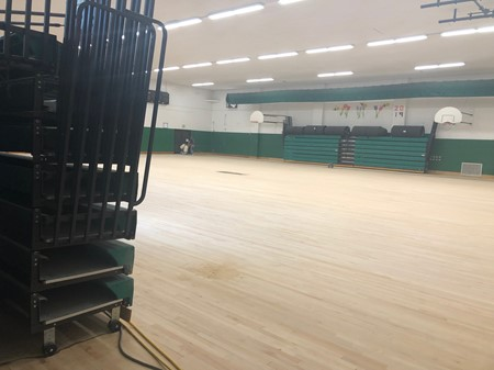 Refinishing Gym Floor