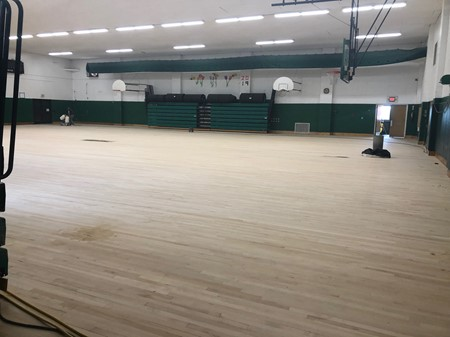 Refinish Gym Floor